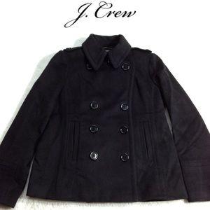 J. Crew Vintage Classic Wool Pea Coat
